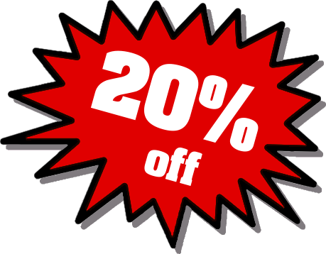 20% Off Png image #37399