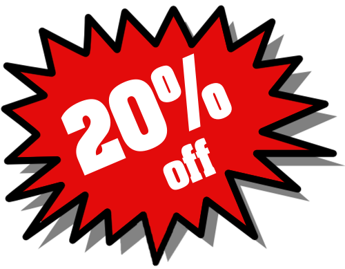 20% Off Png image #37401