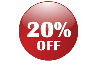 20% Off Png image #37403