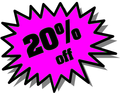 20% Off Png image #37406