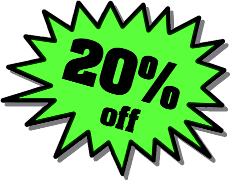 20% Off Png image #37407