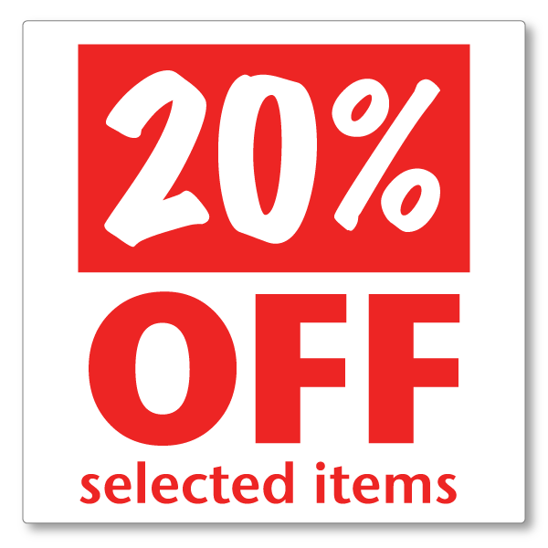 20% Off png