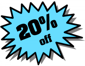 20% Off Png image #37410