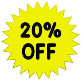 20% Off Png image #37411