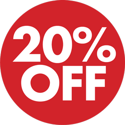 20% Off Png image #37386