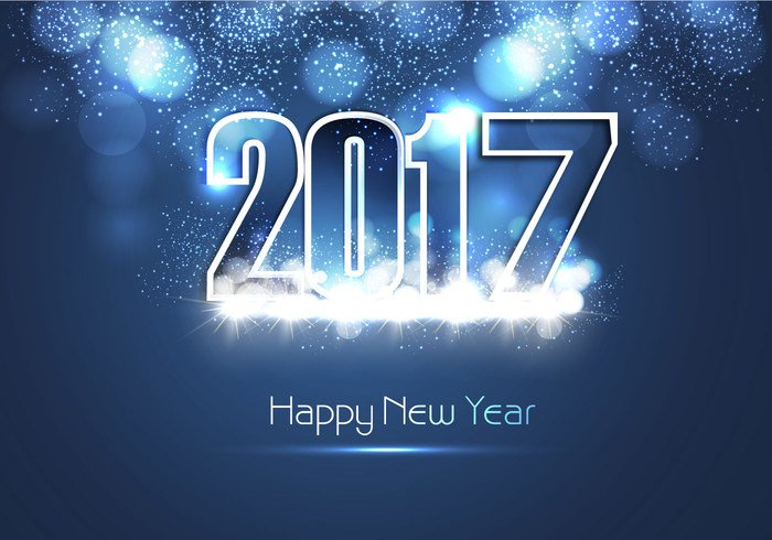 2017 Happy New Year Download Icon