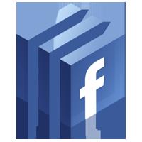 facebook logo blue png