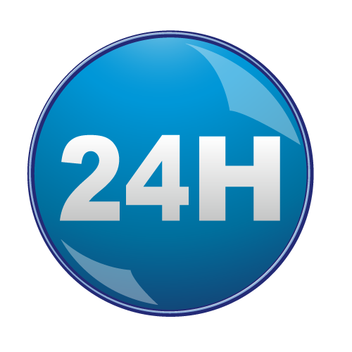 24 Hours Save Icon Format