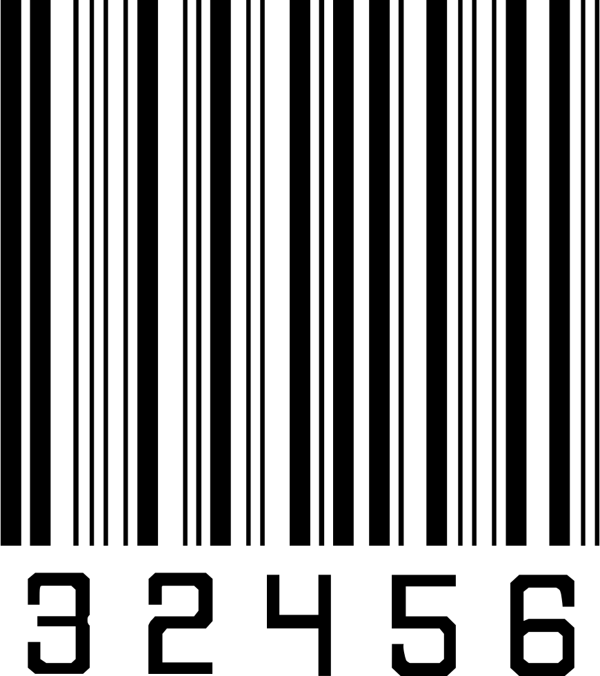 32456 Barcode PNG stripes lines Free Download