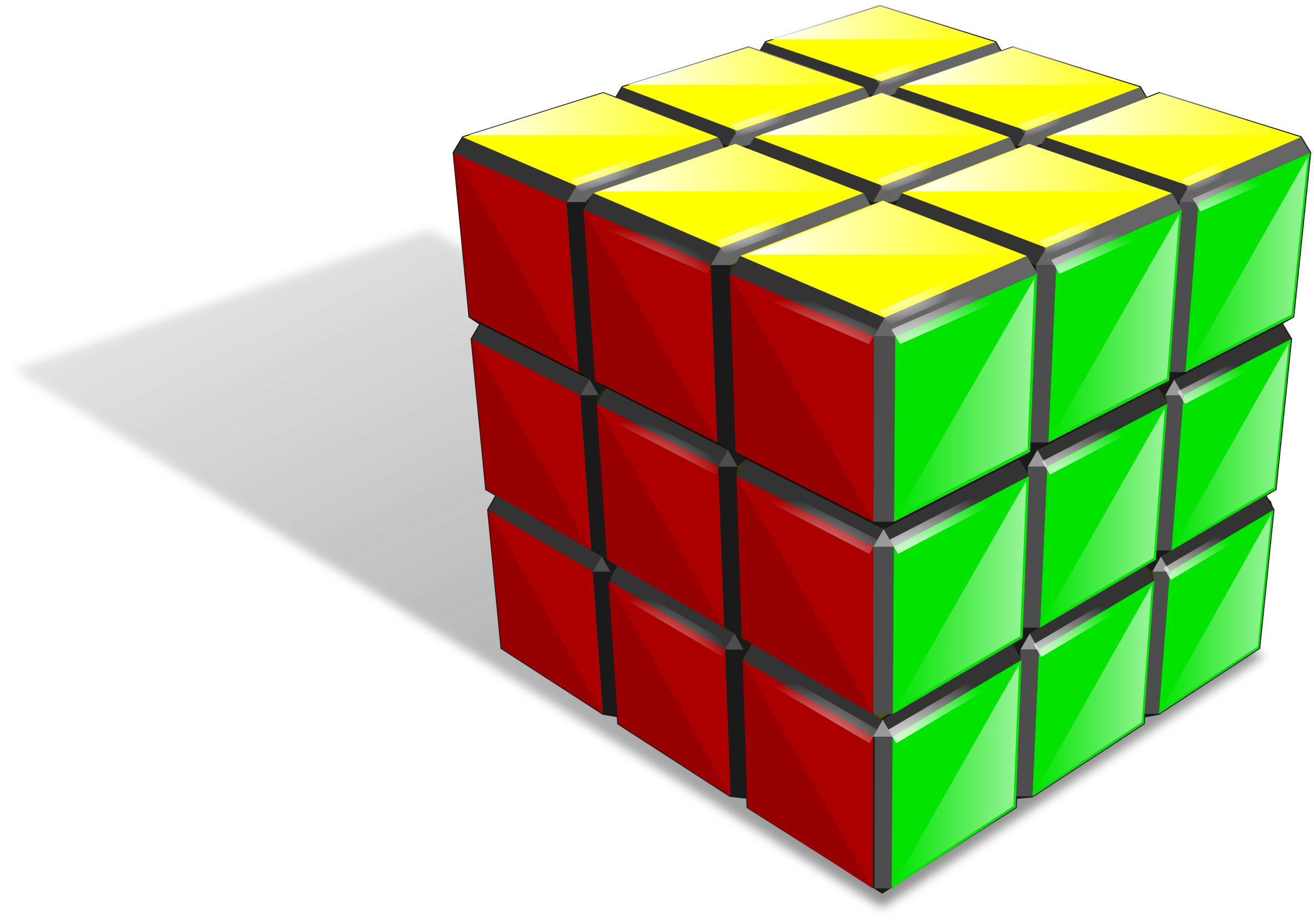 3D Cube Vector Png image #47051