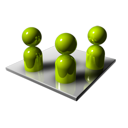 3d Group Png Icon image #3211