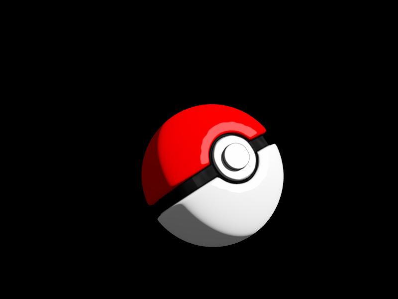 3D Pokeball Pokemon Go Png