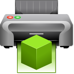 Drawing 3d Printer Icon