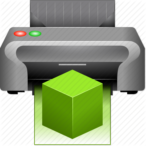 3d Printer Icon Free 512x512, 3d Printer HD PNG Download