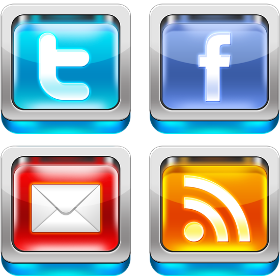 3d socialmedia icons preview