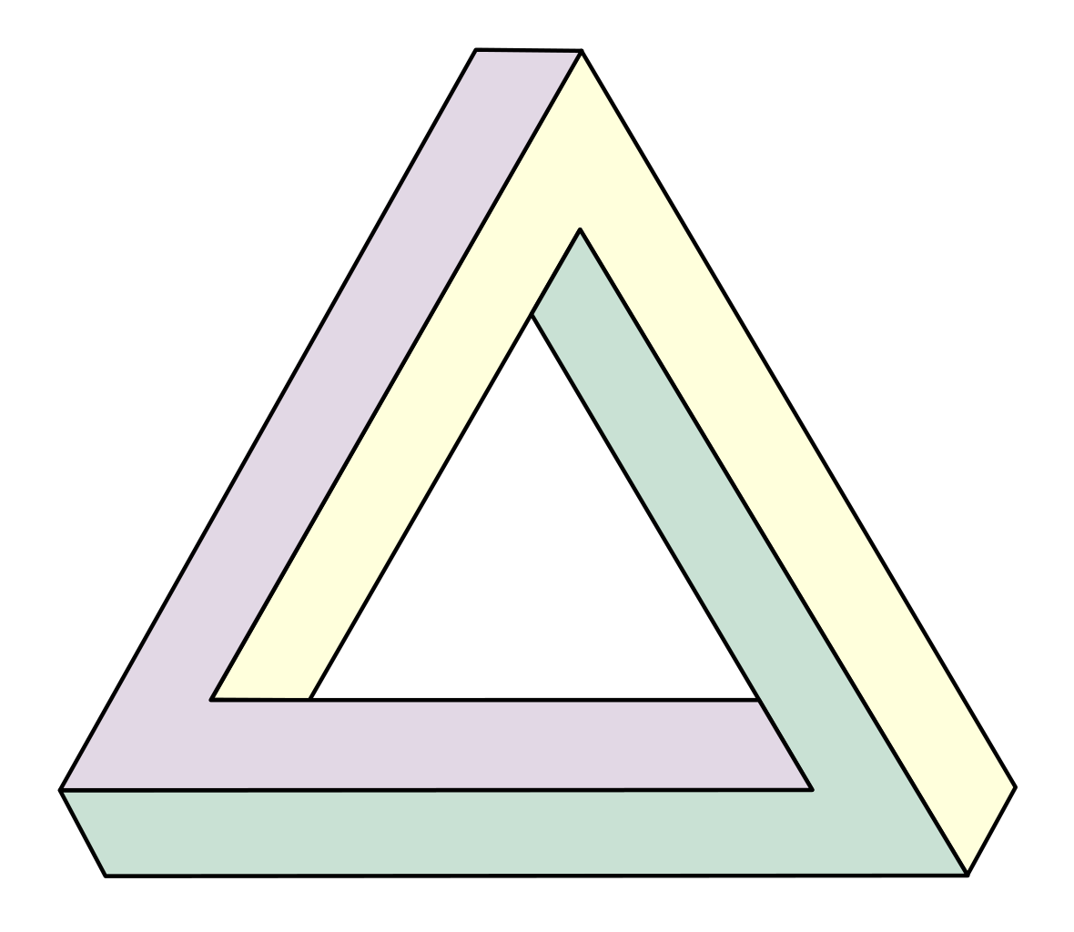 3d Triangle Png image #42413
