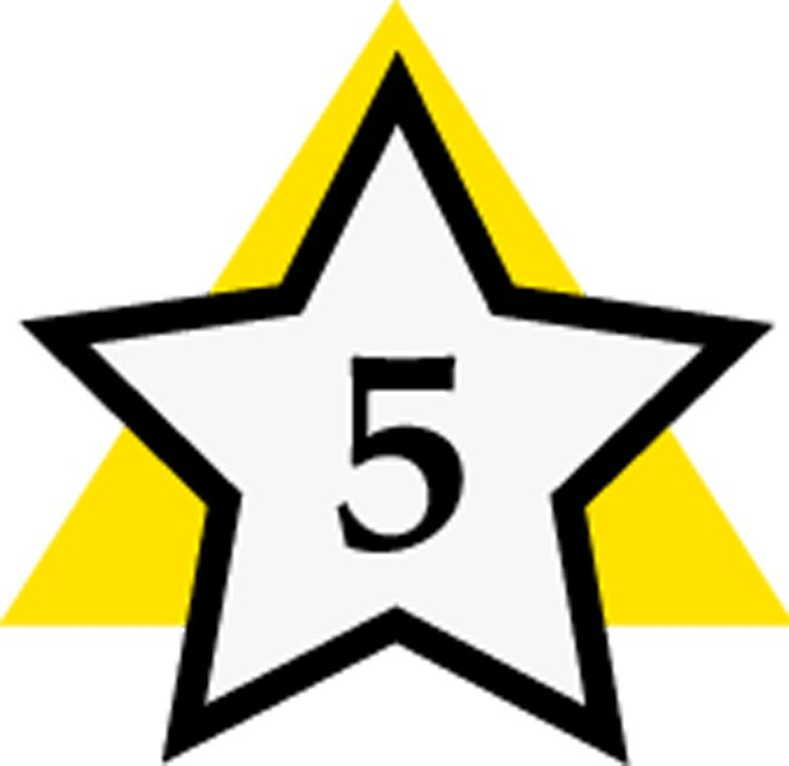 Five Star Save Png