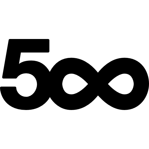 500px Icon Png image #38413