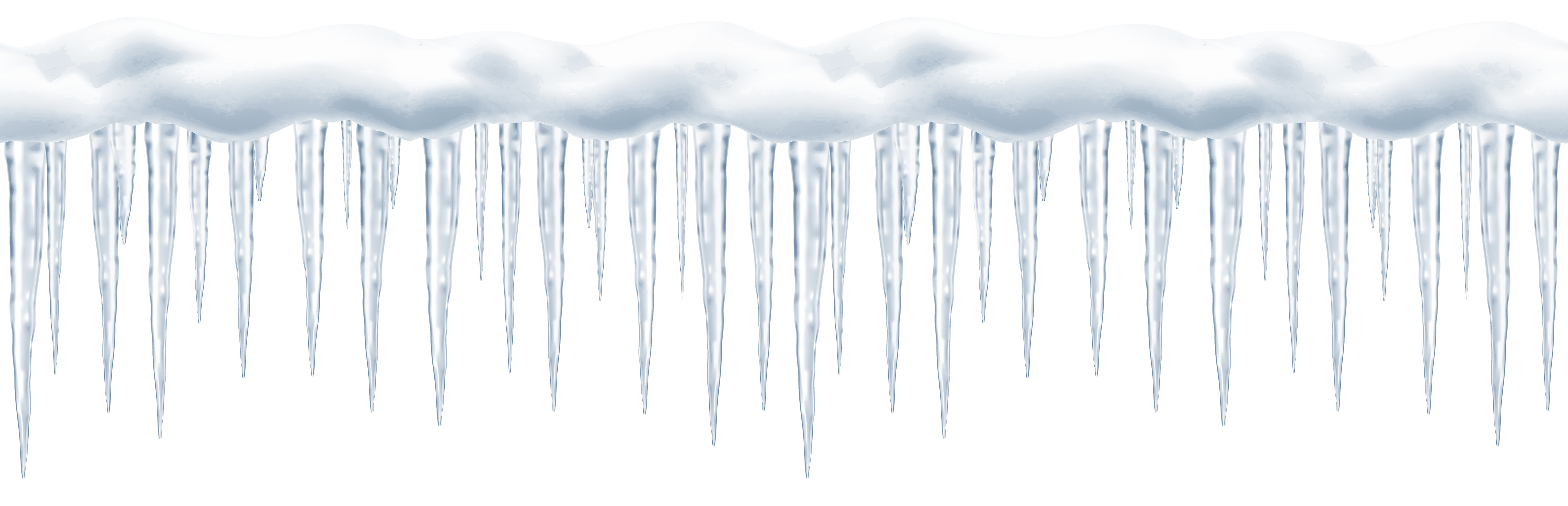 A Long Pointy Icicle Transparent Photo  image #48613