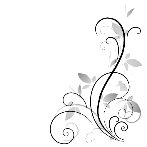 Flower Black And White Transparent PNG Pictures - Free ... Transparent Black And White Flowers Tumblr