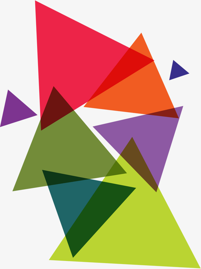 Abstract Triangles PNG Transparent Image image #46454