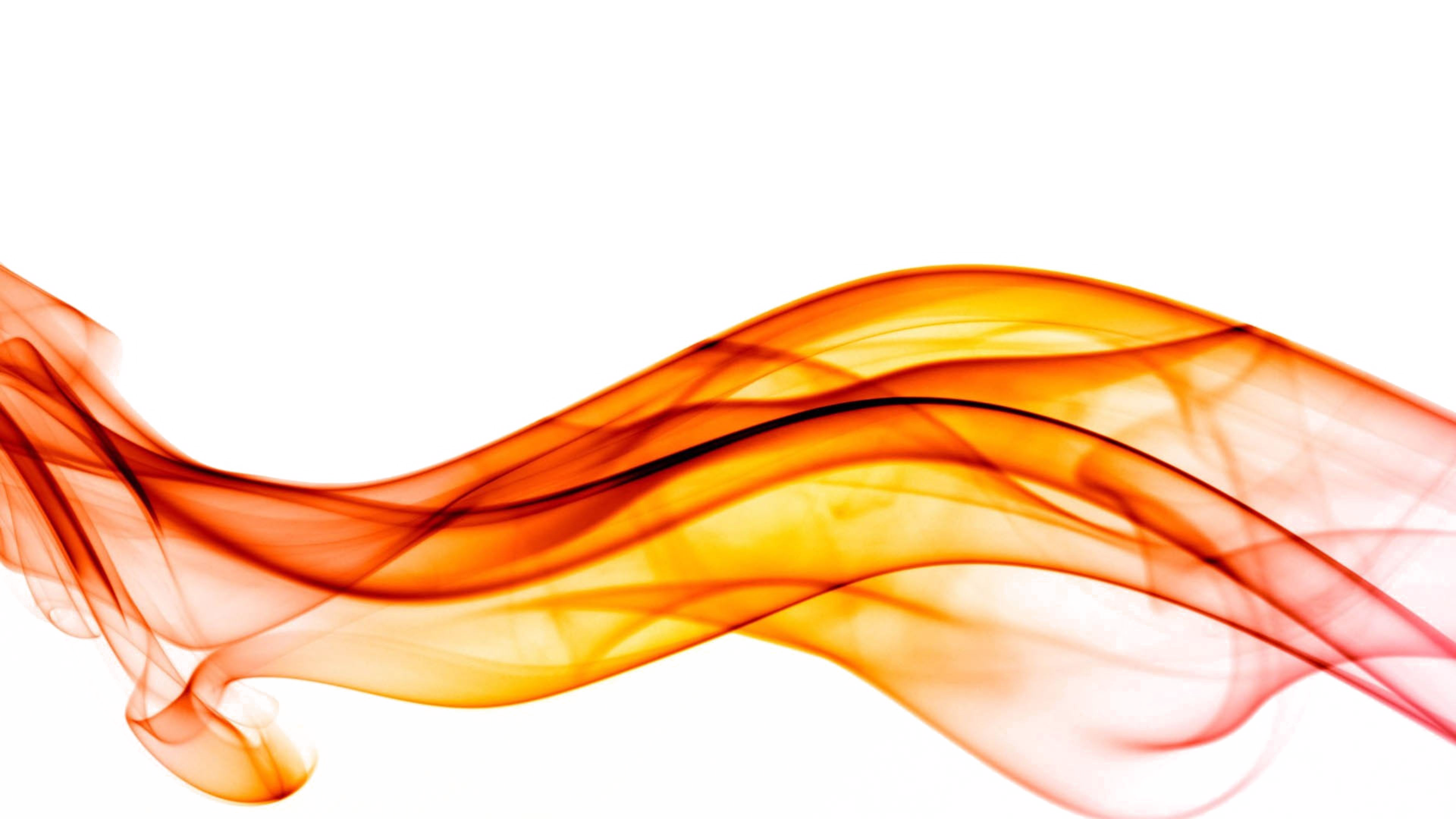 Abstract Wave Orange Lines PNG Clipart