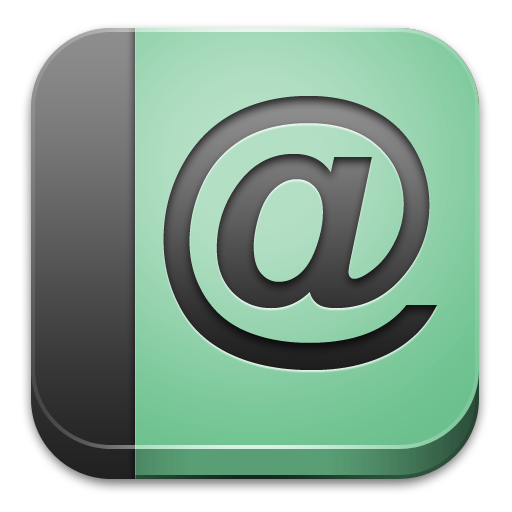 Address Book Icon   BLOC Icons   SoftIconsm image #1759