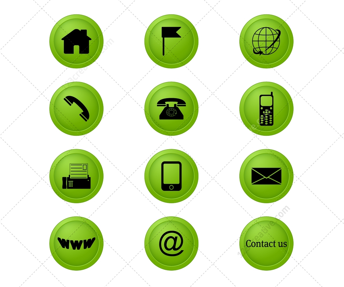 Address Icon - ... Powerpoint Templates For Free