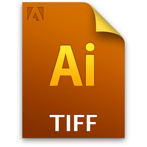 Adobe Illustrator, ai, tiff icon