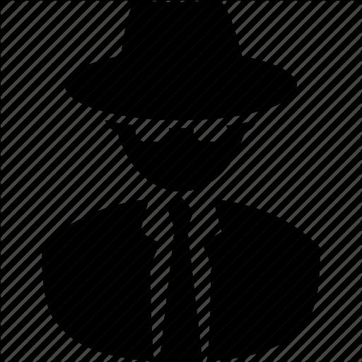 Agent, cia, fbi, nsa, spy, stag, sweeper, undercover icon | Icon