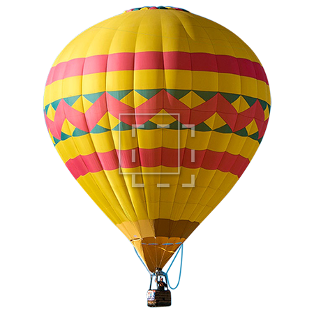 Air Balloon Flying PNG Image image #46766
