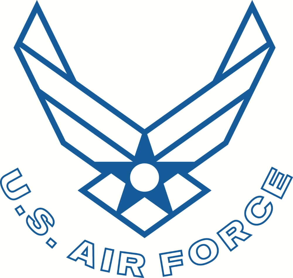 air force logo transparent png pictures free icons and png backgrounds rh freeiconspng com air force logo vector art air force falcons logo vector
