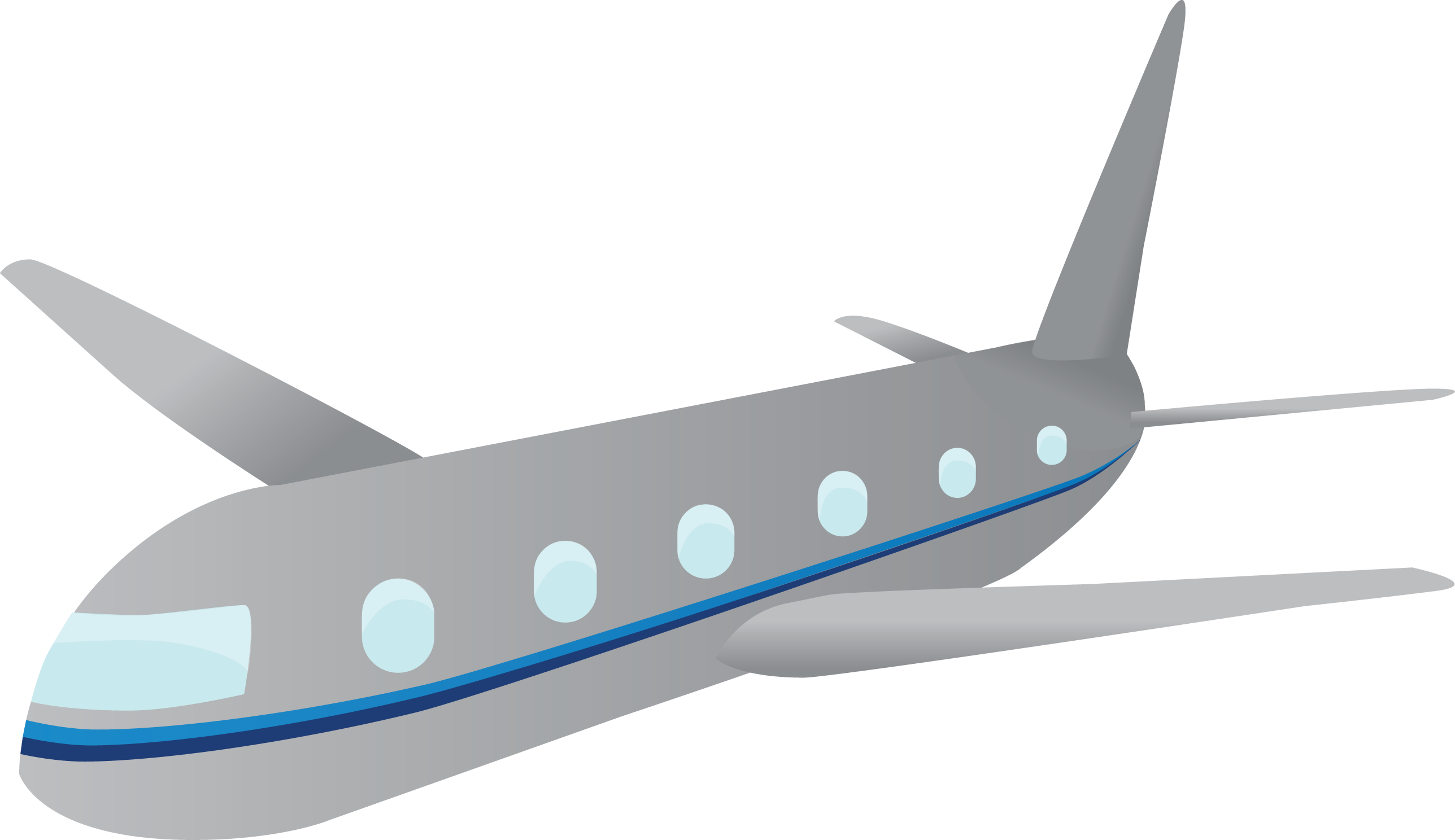 Airplane Vector Png image #27962