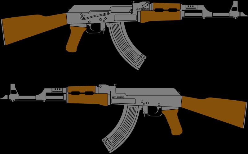 AK 47 png clip art