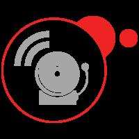 Icon Alarm System Symbol
