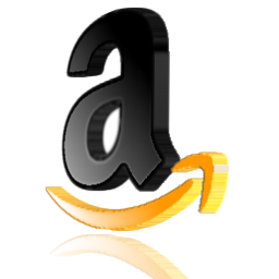Black, Orange, Amazon Icon image #21110