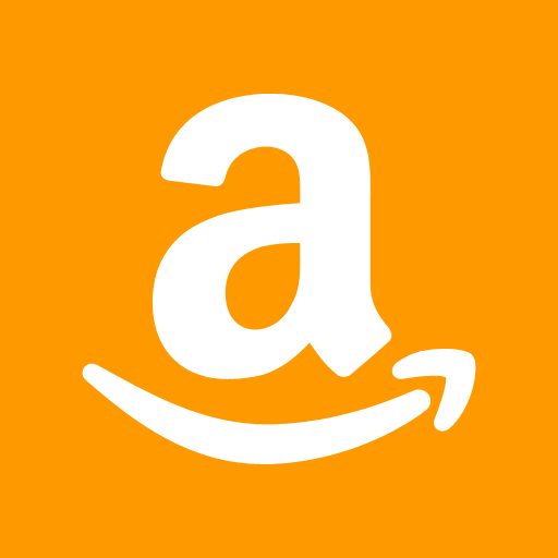 Orange Background Amazon Icon image #21112
