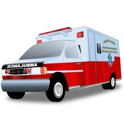 Ambulance Car, Emergency Icon image #29986