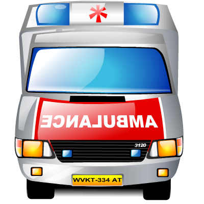 Ambulance, Emergency Icon image #29980