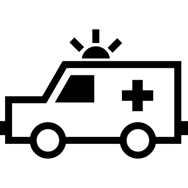 Icon Ambulance Vector