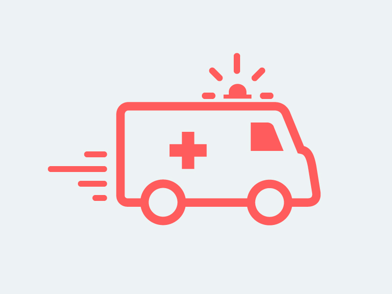 Icon Vector Ambulance image #29973