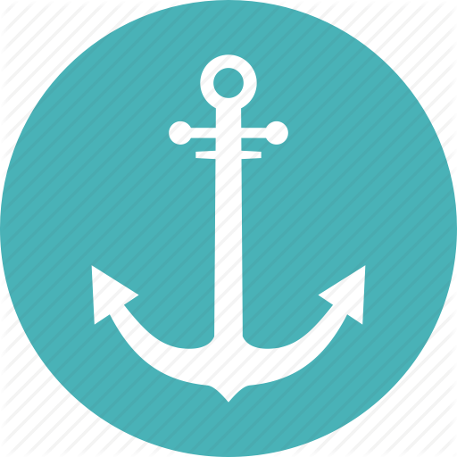 Icon Anchor Vector image #11928