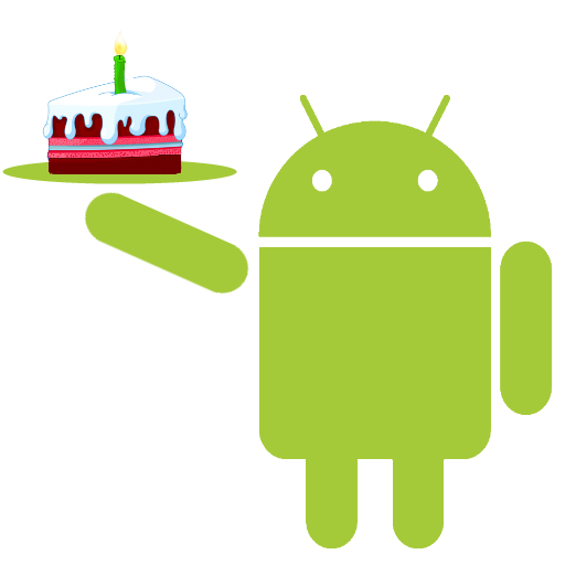 Android Happy Birthday Icon Png 512x512, Birthday HD PNG Download