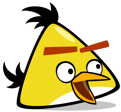 Yellow Angry Birds Stella image #46174
