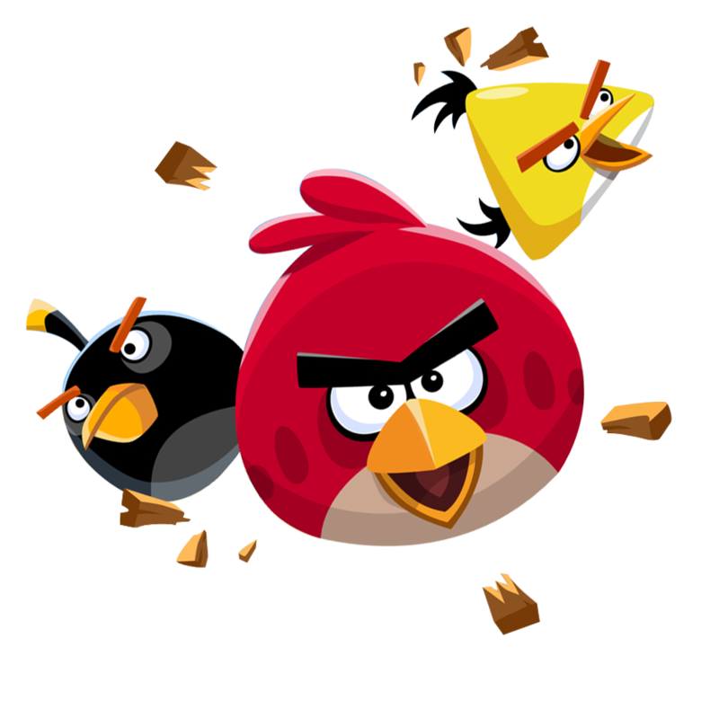 Angry Birds Flying Transparent PNG
