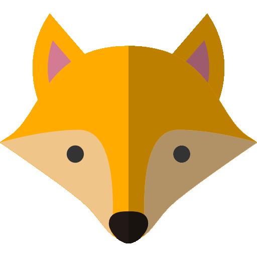 Animal, fox, jungle, safari, zoo icon #35670 - Free Icons ...