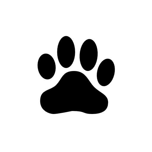 Animal Paw Vector Icon  Animals Icons  Icons Download image #6266