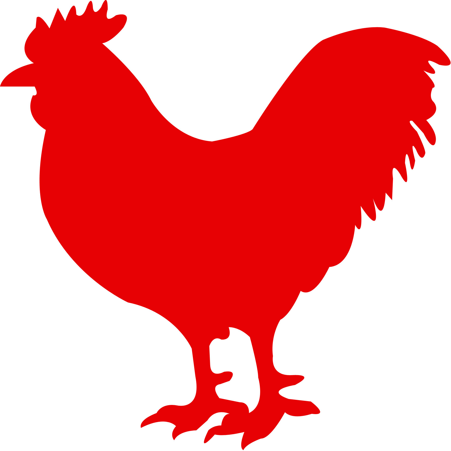 Animals Red Chicken Icon 32087 Free Icons And Png