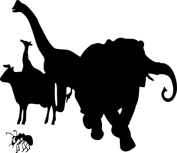 Animals Silhouette Clip Art
