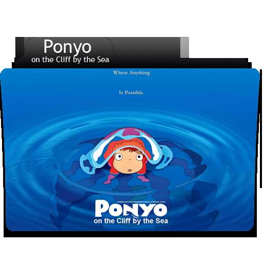 Anime Ponyo Folder Icon